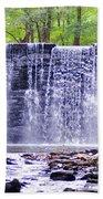 Waterfall In Gladwyne Bath Towel