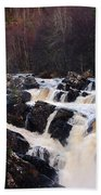 Waterfall In Scotland Bath Towel