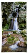 Waterfall. Bath Towel