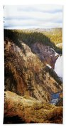 Waterfall Yellowstone 2 Bath Towel