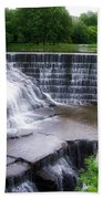 Waterfalls Cornell University Ithaca New York 05 Bath Towel
