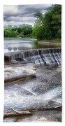 Waterfalls Cornell University Ithaca New York 07 Hand Towel