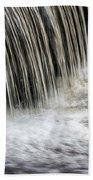Waterflow Waterfall On A Small Creek Bath Towel