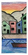 Waterfront Hand Towel