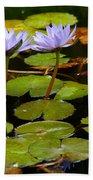 Waterlilies Bath Towel