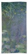 Waterlilies Morning Hand Towel
