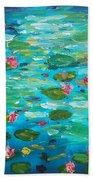 Waterlillies Bath Towel