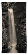 Watkins Glen Cavern Cascade #5 Bath Towel