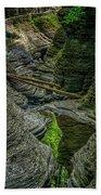 Watkins Glen State Park New York_dsc9599_16 Bath Towel