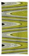 Wave Abstract Bath Towel