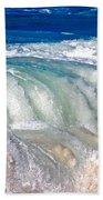 Wave Waterfall, Sunset Beach, Hawai'i Bath Towel