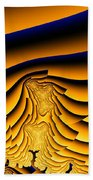 Waves Of Grain Bath Towel