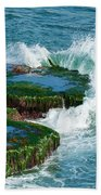 Waves Of La Jolla Bath Towel