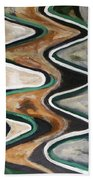 Waves Of  Life Bath Towel