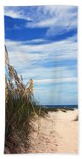 Way Out To The Beach Hand Towel