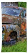 Wears Valley 1954 Gmc Wears Valley Tennessee Art Bath Towel