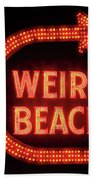 Weirs Beach Icon Hand Towel