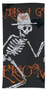 Welcome Ghoulish Guests Bath Towel
