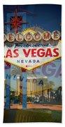 Welcome To Vegas Xiii Bath Towel