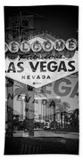 Welcome To Vegas Xiv Bath Towel