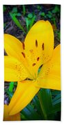 Welcoming Lily Bath Towel