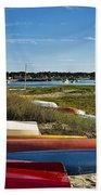 Wellfleet Harbor Cape Cod Bath Towel