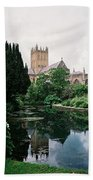 Wells Cathedral Hand Towel
