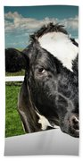 West Michigan Dairy Cow Bath Towel