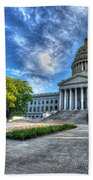 West Virginia State Capitol Building No. 2 Bath Towel