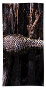 Western Fence Lizard Bath Towel