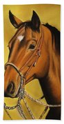 Western Horse Hand Towel