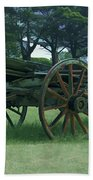 Western Wagon Bath Towel