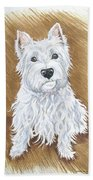 Westie Bath Towel