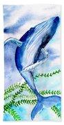 Whale 6 Bath Towel