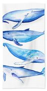 Whale Friends Bath Towel