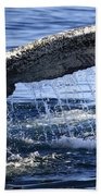 Whale Tail Bath Towel