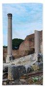 Basilica Aemilia Bath Towel