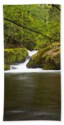 Whatcom Creek Gorge Bath Towel