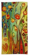 Where Does Your Garden Grow Hand Towel by Jennifer Lommers