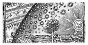 Where Heaven And Earth Meet 1888 Bath Towel