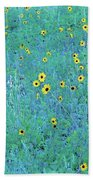Where The Flowers Bloom Bath Towel