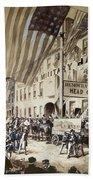 Whig Party Parade, 1840 Bath Towel