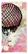 Whimsical Musing High In The Air Pink Bath Towel