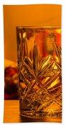 Whiskey In A Glass Bath Towel