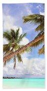 Whispering Palms. Maldives Bath Towel