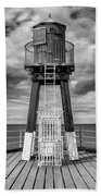 Whitby Pier Hand Towel