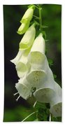 White Bells Bath Towel