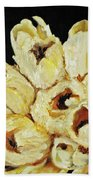 White Bouquet Bath Towel