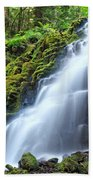 White Branch Falls Bath Towel