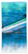 White Marlin -  From The Outer Banks Of North Carolina To Cape M Bath Towel